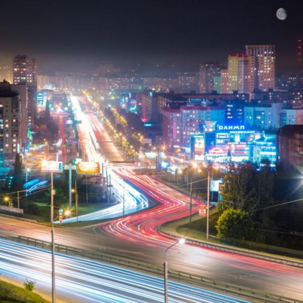 уфа ночной город