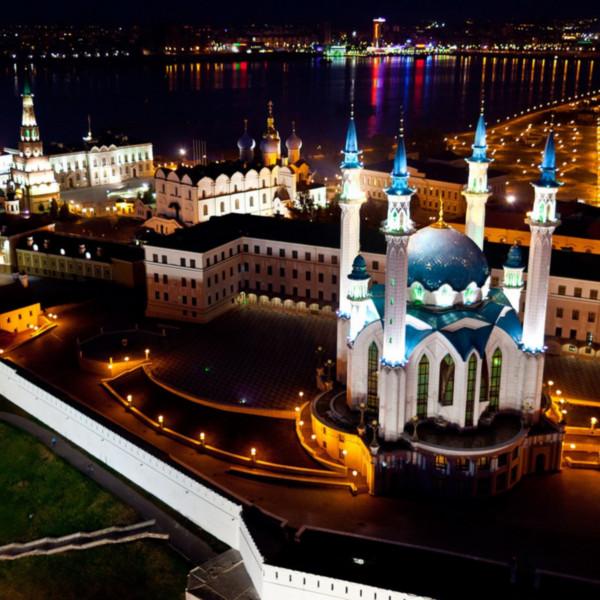 казань вид на мечеть