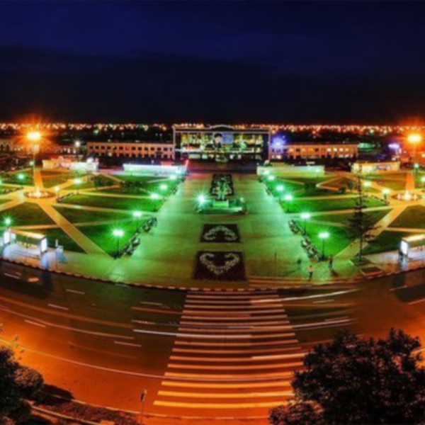 петропавловск ночной город